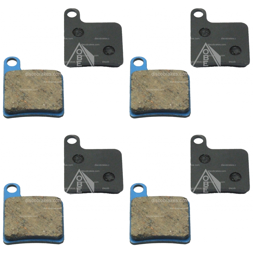 4-PAIRS-8Pads-Disco-Giant-MPH-Disc-Brake-Pads-MPH2-MPH3-Semi-metallic-Medium