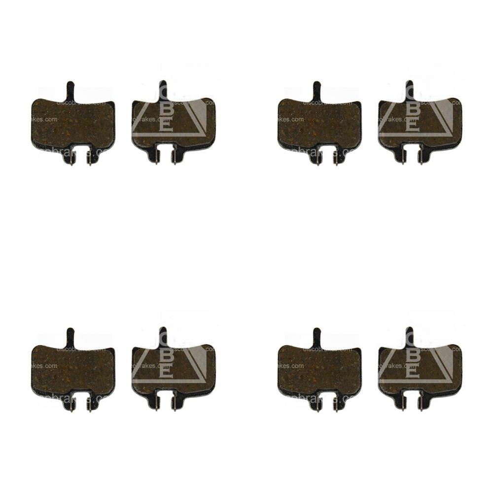 4-Pairs-8Pads-Promax-Alu-Super-Light-Semi-Metallic-Disc-Brake-Pads-5g-MTB-XC