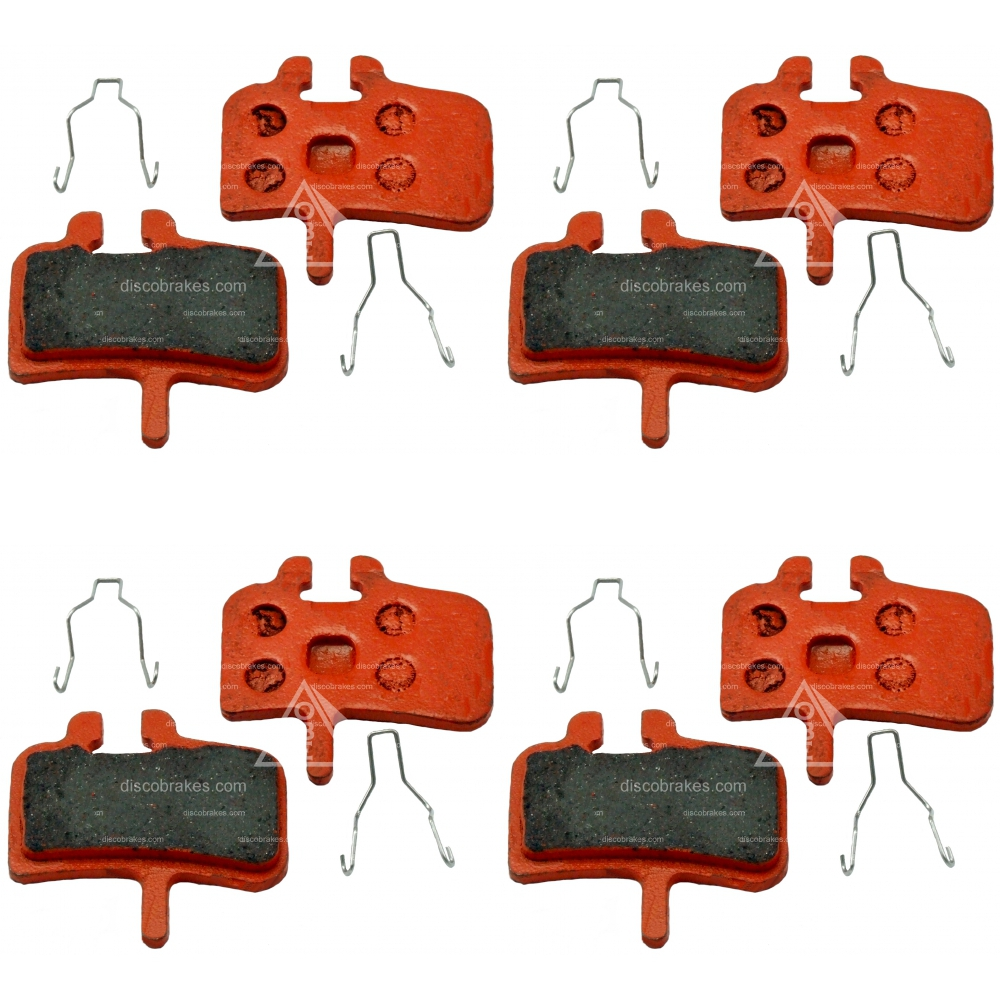 4-Pairs-8-Pads-CERAMIC-Hard-Promax-Disc-Brake-Pads