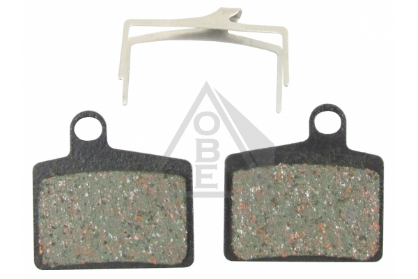 Semi-metallic 4pairs pads compatible with Hayes Dominion Disc Brake MTB DH XC