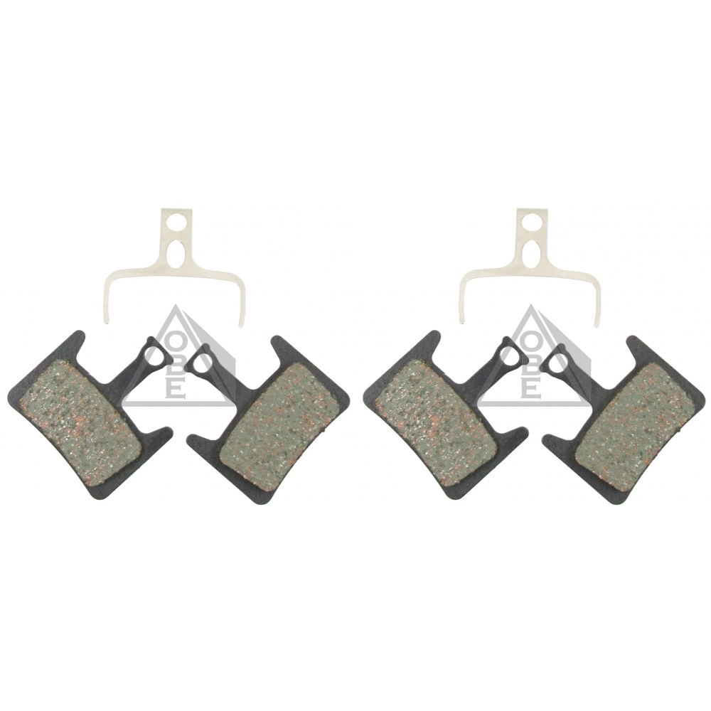 2 Pairs of Hayes Prime Mountain Bike Disc Brake Pads, 2 Compounds Available,4Pcs