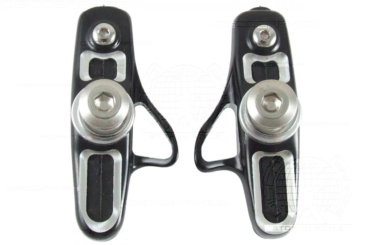 Shimano Dura Ace Pads 4 Pairs of Full Carbon Monocoque Brake Shoe Cartridges